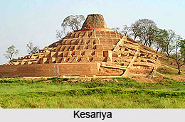 Kesariya,Buddhist Pilgrimage Center