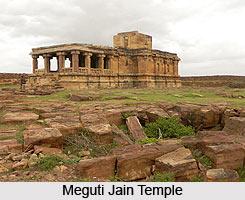 Meguti Jain Temple, Bagalakot District, Karnataka