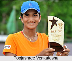 Poojashree Venkatesha, Indian Tennis Player