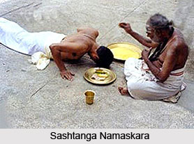 Sashtanga, Form Of Prostration of Body