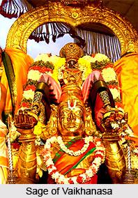 Vaikhanasa, Hinduism