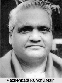 Vazhenkata Kunchu Nair, Indian Kathakali Artist