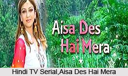 Aisa Des Hai Mera, TV Serial