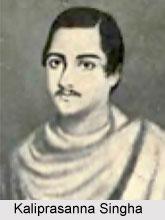 Kaliprasanna Singha, Bengali Author