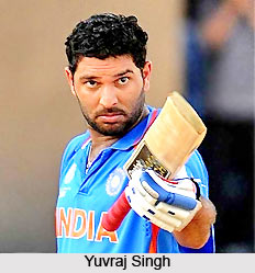 Yuvraj Singh, Indian Cricket Player