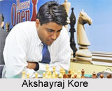 Akshayraj Kore, Indian Chess Player
