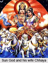 Chhaya, Wife Of Sun