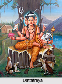 Dattatreya, Son of Atri