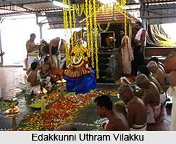 Edakkunni Uthram Vilakku, Festival of Kerala