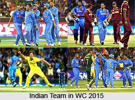 India in ICC Cricket World Cup 2015
