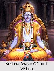 Krishna, avatar of Vishnu
