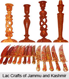 Lac Crafts of Jammu and Kashmir