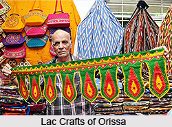 Lac Crafts of Orissa