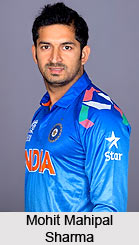Mohit Mahipal Sharma, Indian Cricketer