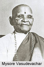 Mysore Vasudevachar, Indian Music Composer