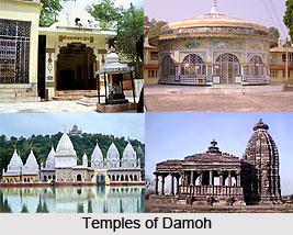 Temples in Damoh