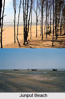 Junput Beach, West Bengal