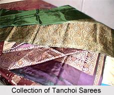 Tanchoi Sarees, Sarees of North India