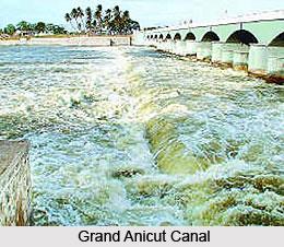 River Kaveri In Tamil Nadu, Indian River