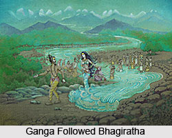 Birth of Ganga, Indian Mythology