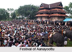 Aanayoottu, Kerala