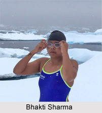Bhakti Sharma, Indian Swimmer