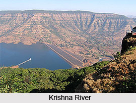 Drainage Basin Of Krishna River, Indian River