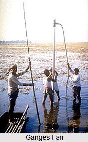 Ganges Fan , Indian River
