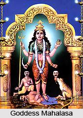 Goddess Mahalasa, Indian Goddess