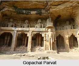 Gopachal Parvat, Gwalior Fort