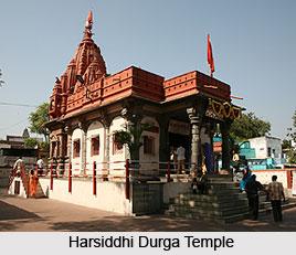Harsiddhi Durga Temple, Ujjain , Madhya Pradesh