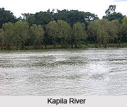 River Kaveri In Karnataka, Indian River