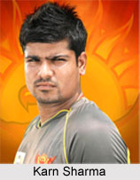Karn Sharma, Indian Cricket Player