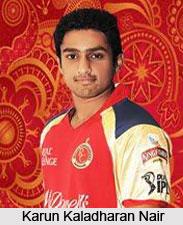 Karun Kaladharan Nair, Indian Cricket Player