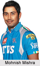 Mohnish Mishra, Indian Cricket Player