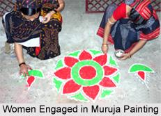 Muruja Painting of Odisha