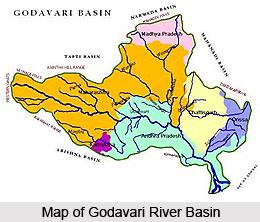 River basin of Godavari River, Indian River
