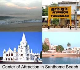 Santhome Beach, Mylapore, Tamil Nadu