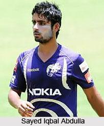 Sayed Iqbal Abdulla, Indian Cricket Player