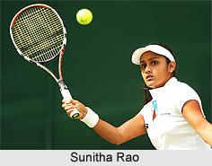 Sunitha Rao, Indian Tennis Player