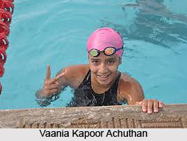 Vaania Kapoor Achuthan, Indian Swimmer