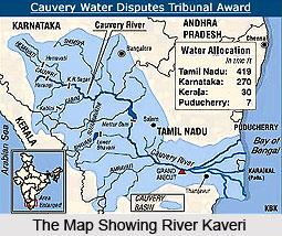 Water Sharing Of River Kaveri, Indian River
