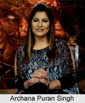 Archana Puran Singh, Indian Film Personality