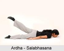 Ardha-Salabhasana