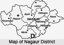 Geography of Nagaur District