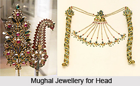 Mughal Jewellery for Head and Face