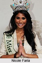 Nicole Faria, Indian Model