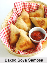 Soya Samosa, Indian Snacks