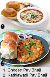 Pav Bhaji, Indian Snacks