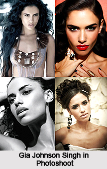 Gia Johnson-Singh, Indian Model
